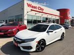 2016 Honda Civic Touring, TINT,LEATHER,GPS! in Belleville, Ontario