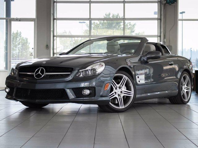 2009 MERCEDES-BENZ SL-CLASS SL63 AMG 2dr Roadster in Kelowna, British Columbia