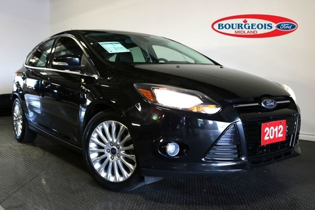 2012 Ford Focus *CPO* Titanium 2.0L I4 1.9% APR in Midland, Ontario