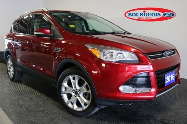 2016 Ford Escape *CPO* TITANIUM 2.0L 4CYL 19% APR in Midland, Ontario
