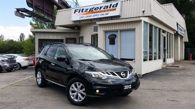 2012 NISSAN MURANO SL (CVT) - LEATHER! BACK-UP CAM! PANO ROOF! in Kitchener, Ontario