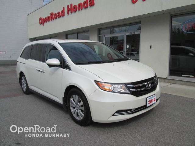 2014 HONDA ODYSSEY EX-L w/Navi in Burnaby, British Columbia