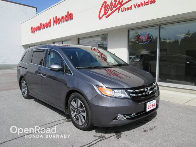 2014 HONDA ODYSSEY Touring in Burnaby, British Columbia