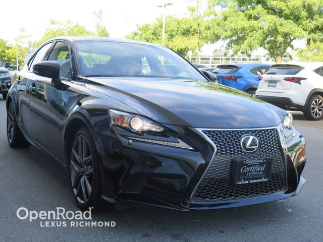 2014 LEXUS IS 350 F Sport  - Certified in Richmond, British Columbia