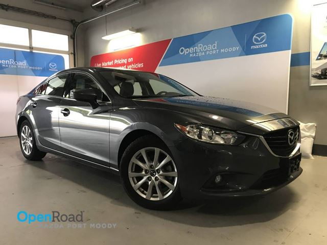 2015 MAZDA MAZDA6 GS A/T Local No Accidents Sunroof Bluetooth ABS in Port Moody, British Columbia