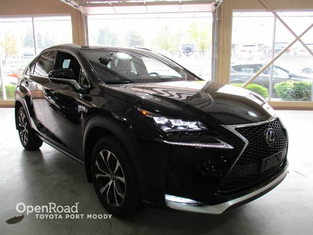 2015 LEXUS NX 200T Leather, Sunroof, Navigation in Port Moody, British Columbia