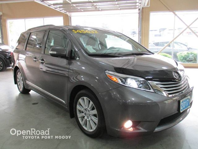 2017 Toyota Sienna Limited - Navigation, Rear Entertainment System in Port Moody, British Columbia