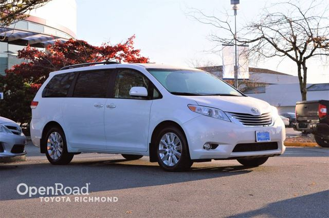 2014 TOYOTA SIENNA XLE Limited AWD, Toyota Certified, balance of f in Richmond, British Columbia