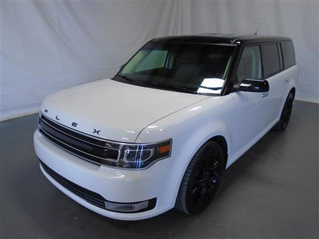 2016 FORD FLEX LIMITED CUIR TOIT PANO NAV 4RM in Mascouche, Quebec