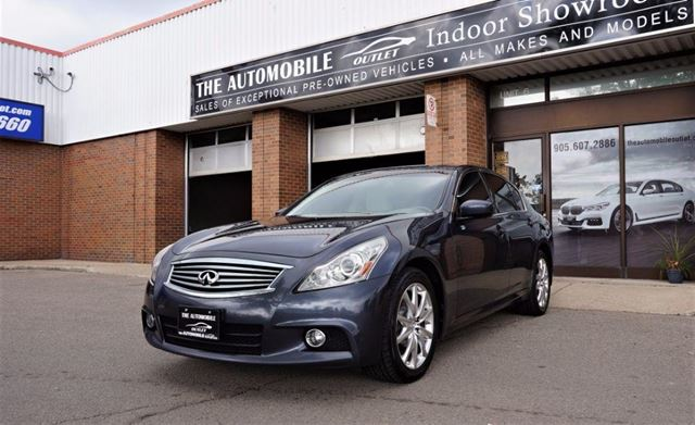 2010 INFINITI G37 x G37xs NAVI BACK-UP LEATHER SUNROOF in Mississauga, Ontario