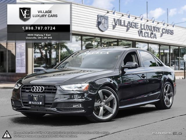 2014 AUDI A4 2.0 Progressiv BLACK OPTICS PKG | S LINE SPORT PKG | REAR PARK ASSIST in Markham, Ontario