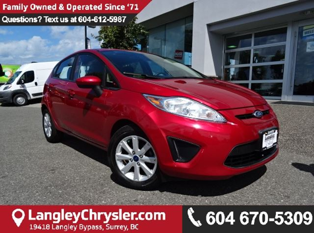 2012 FORD FIESTA SE *ONE OWNER*LOCAL BC CAR* in Surrey, British Columbia