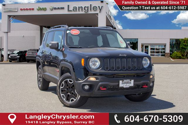 2015 JEEP RENEGADE Trailhawk in Surrey, British Columbia