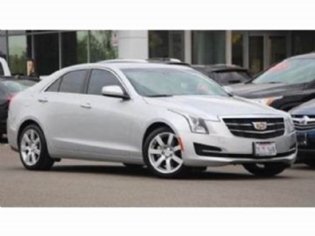 2015 CADILLAC ATS 4 AWD Full Warranty + Excess Wear Protection in Mississauga, Ontario