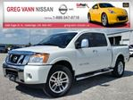 2014 Nissan Titan SL w/all leather,NAV,climate control,heated seats,sunroof,tonneau cover,running boards in Cambridge, Ontario