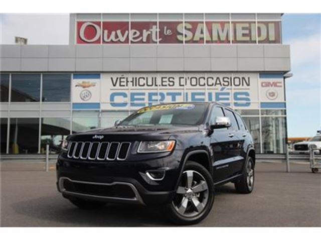 2016 JEEP Grand Cherokee TOIT OUVRANT+NAVIGATION+JANTES 20'' in Montreal, Quebec