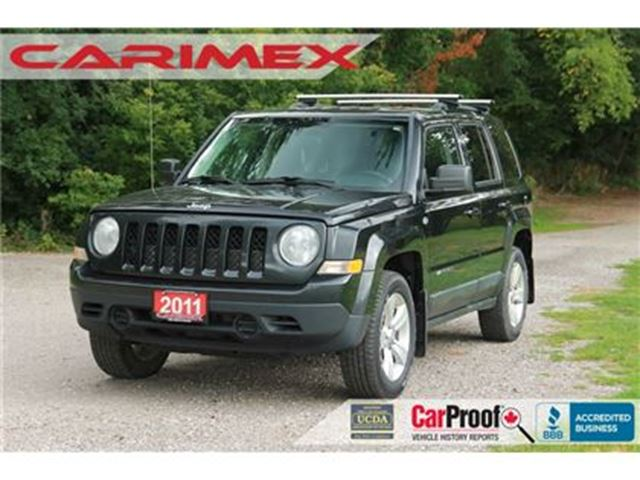 2011 JEEP PATRIOT Sport/North   4x4    CERTIFIED in Kitchener, Ontario