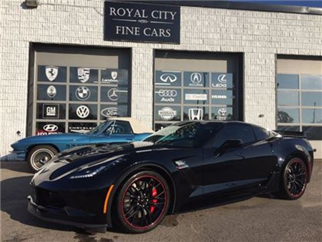 2017 CHEVROLET CORVETTE Z06 3LZ Suede Design Package in Guelph, Ontario