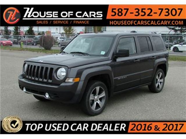 2016 JEEP PATRIOT High Altitude / 4WD / Sun Roof / Leather in Calgary, Alberta