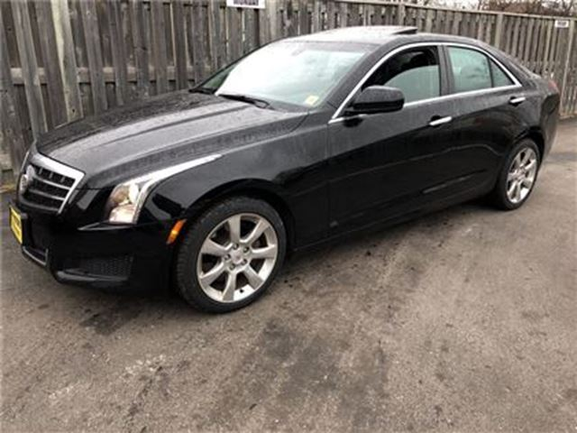 2014 CADILLAC ATS Automatic, Leather, Sunroof, AWD in Burlington, Ontario