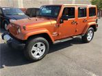 2011 Jeep Wrangler Unlimited Sahara, Automatic, Leather, 4*4 in Burlington, Ontario