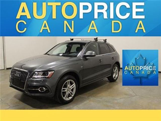 2014 AUDI Q5 S-LINE NAVIGATION PANOROOF in Mississauga, Ontario