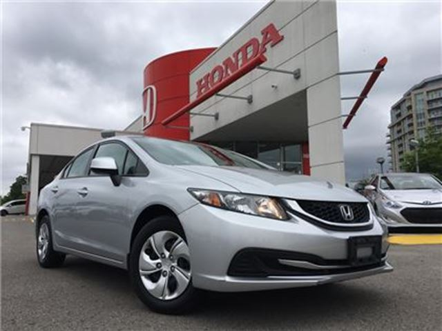 2013 HONDA CIVIC Sedan LX 5AT in Markham, Ontario