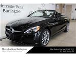 2017 Mercedes-Benz C-Class C300 4matic Cabriolet in Burlington, Ontario