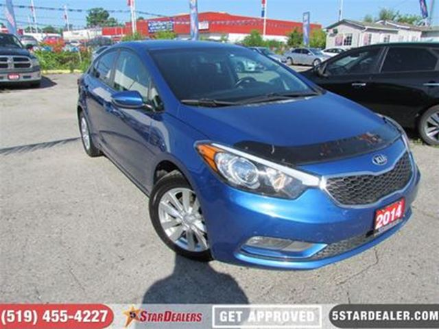 2014 KIA Forte LX   BLUETOOTH   HEATED SEATS   SAT RADIO in London, Ontario