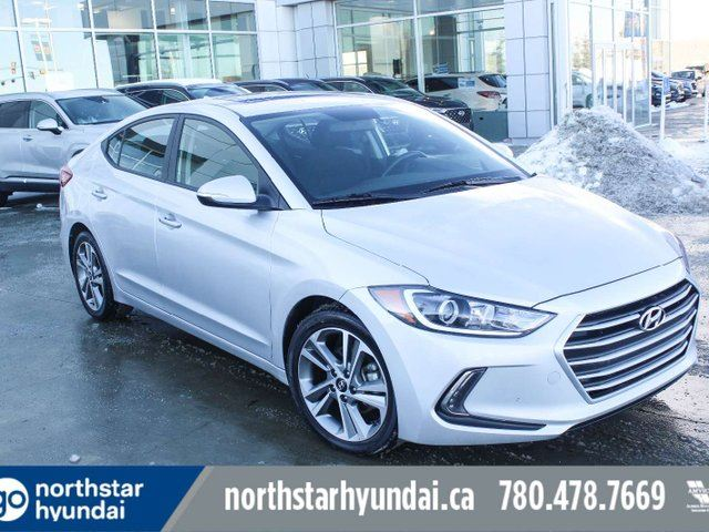 2017 HYUNDAI ELANTRA GLS SUNROOF BACKUP CAM HEATED SEATS in Edmonton, Alberta