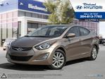 2016 Hyundai Elantra Sport Appearance *Sunroof in Winnipeg, Manitoba