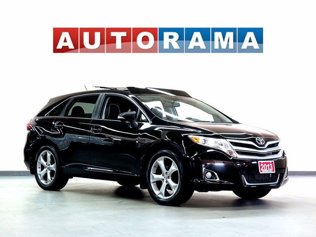 2013 Toyota Venza NAVIGATION LEATHER PAN SUNROOF 4WD BACKUP CAM in North York, Ontario