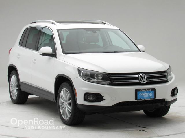 2012 VOLKSWAGEN TIGUAN 4dr Auto Highline 4Motion in Vancouver, British Columbia