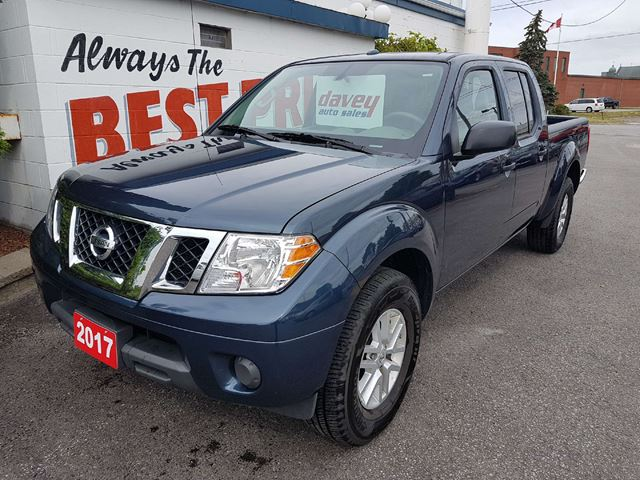 2017 NISSAN FRONTIER SV 4X4, CREW CAB, BLUETOOTH in Oshawa, Ontario