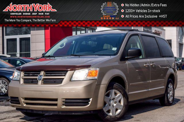 2008 DODGE GRAND CARAVAN SE Stow 'N Go AC AccidentFree KeylessEntry PwrLocks&Wndws  in Thornhill, Ontario