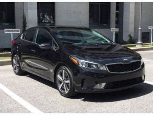 2017 KIA FORTE EX+ with Aesthetic Protection in Mississauga, Ontario