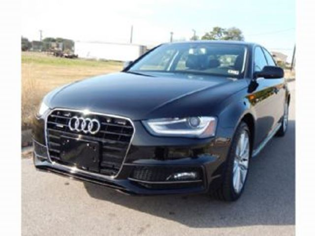 2015 AUDI A4 quattro S-Line, Excess Wear Protection and Extended Warranty in Mississauga, Ontario