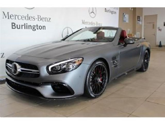 2017 MERCEDES-BENZ SL-CLASS SL63 CONVERTIBLE (1759768) in Mississauga, Ontario