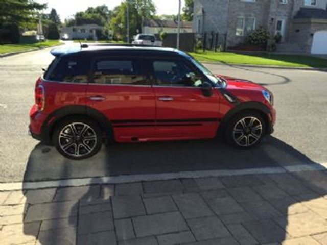 2014 MINI COOPER Countryman S ALL4 John Cooper Works with Excess Wear Protection in Mississauga, Ontario