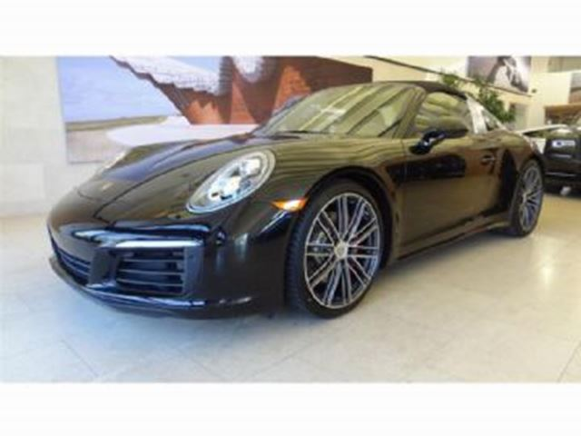 2017 PORSCHE 911 TARGA 4S Sport Exhaust Every Option in Mississauga, Ontario