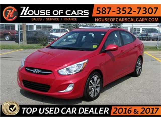 2017 HYUNDAI ACCENT GL / Sunroof / Bluetooth in Calgary, Alberta