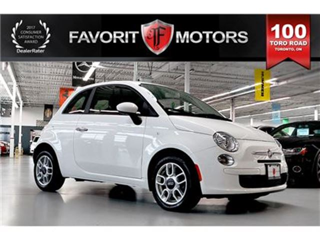 2012 FIAT 500 Pop   MANUAL   PWR WINDOWS   KEYLESS ENTRY in Toronto, Ontario