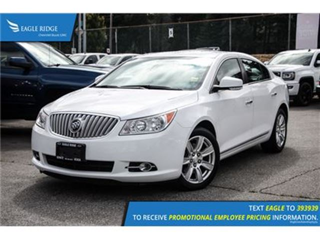 2012 BUICK LACROSSE Convenience Group Heated Seats and Backup Camera H in Coquitlam, British Columbia