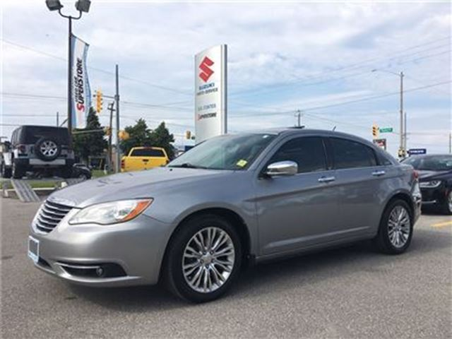 2013 CHRYSLER 200 Limited ~Power/Heated Leather ~P/Sunroof in Barrie, Ontario