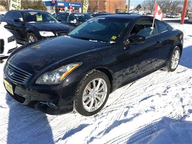 2013 INFINITI G37 Sport, Automatic, Navi, Leather, Sunroof, AWD in Burlington, Ontario
