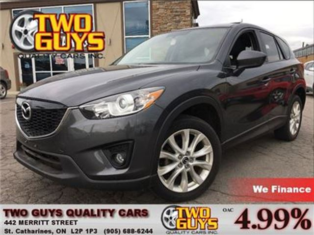 2014 MAZDA CX-5 GT LEATHER MOON ROOF BACK UP CAMERA in St Catharines, Ontario