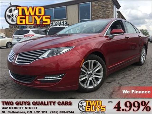 2014 LINCOLN MKZ ECOBOOST TURBO in St Catharines, Ontario