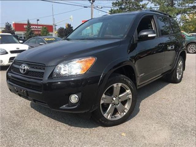 2012 TOYOTA RAV4 Sport (A4) AWD MOON ROOF DUAL AIR BAGS in St Catharines, Ontario
