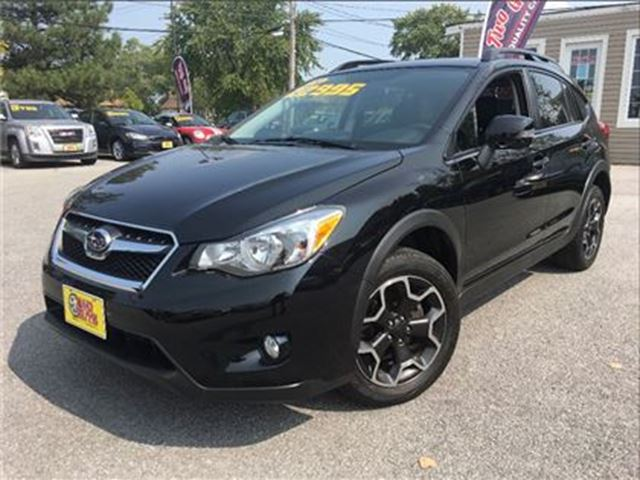 2014 SUBARU XV CROSSTREK Limited Package LEATHER NAVIGATION MOON ROOF in St Catharines, Ontario