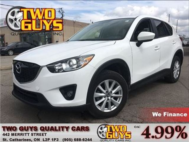 2014 MAZDA CX-5 GS MOON ROOF CARGO COVER in St Catharines, Ontario